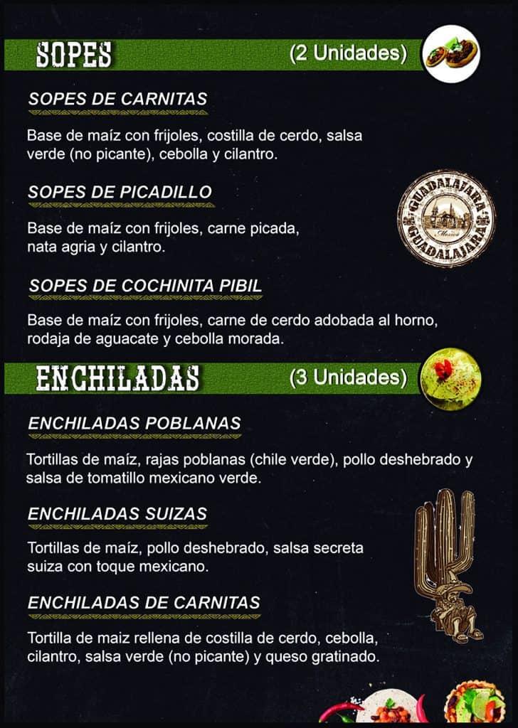 sopes-enchiladas